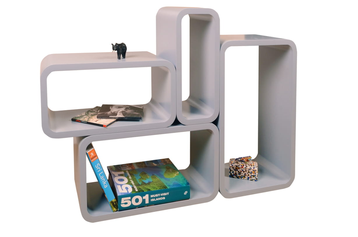 Home design p ki cube grey 4 szt 5629096938 oficjalne archiwum allegro Home design sklep online