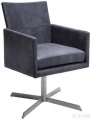 Kare Design :: Fotel obrotowy Dialog Anthracite (76439)