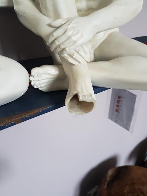 Kare design outlet figurka rze ba pies gangster dog krem 33cm 38088 outlet home design - Kare design outlet ...