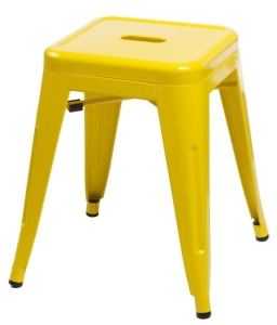 Home Design :: Taboret stołek Tolix Paris Steel yellow (D_Paris_yellow)