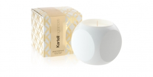 Kartell Fragrances :: Świeca zapachowa Dice  White - Ghost Diamond (JK1010B4)