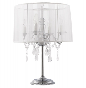 HOME Design :: Lampa stołowa, dekoracyjna, vintage Costes White 50 cm (TL00060WH)