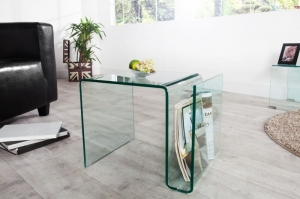 INTERIOR :: Stolik z gazetnikiem Clear Club Mini 40x40cm (Z22860)