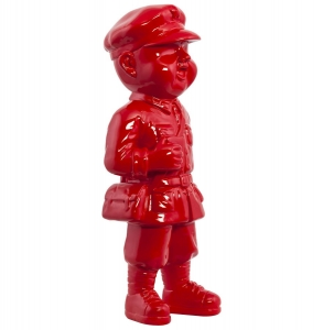 HOME Design :: Figurka, posążek, statuetka, rzeźba Gino Red - standing boy (DK00710RE)