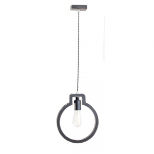 HOME Design Lux :: Lampa loftowa LIGHT BULB 1L CZARNA (TB042)