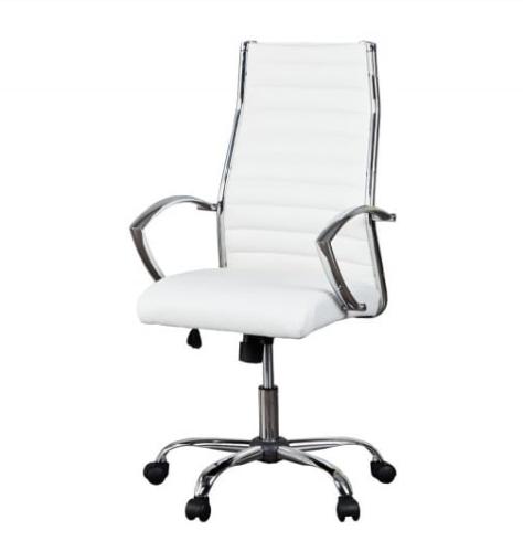 Interior Fotel Biurowy Big Dealer White Biały Do Biurka Z11061