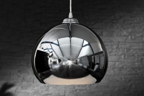 Interior Lampa Wisząca Big One Chrom Kula Srebrna Z8605 Cena