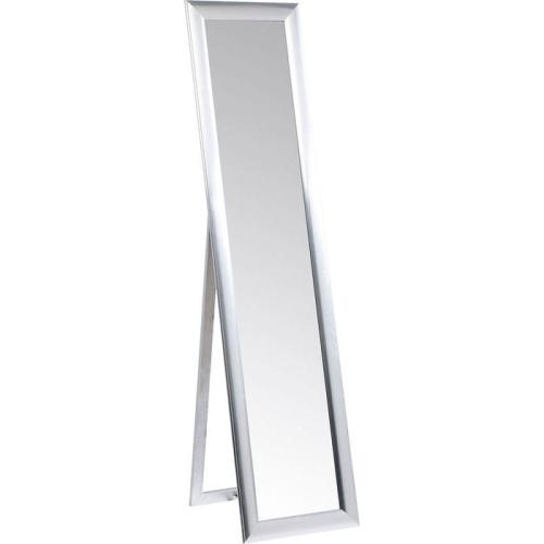 Home Design Lustro Stojące Modern Living Srebrne 75357 Cena