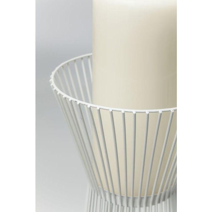 Kare design outlet wiecznik druciany wire bia y 50 cm 38430 home design - Kare design outlet ...