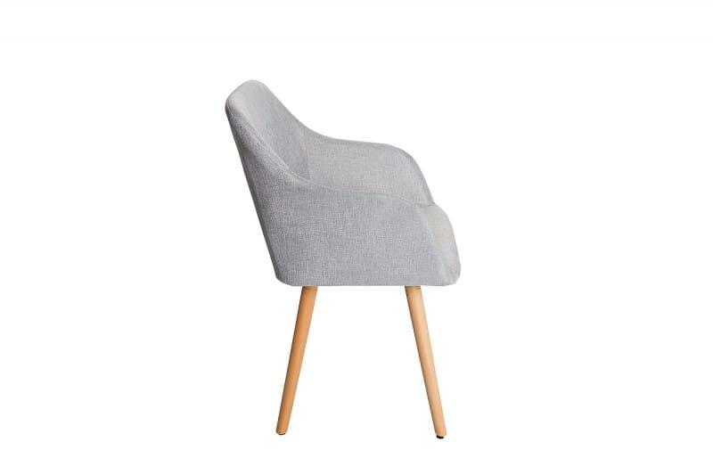 Interior Krzesło Z Podłokietnikami Igloo Scandi Jasny Szary 85cm